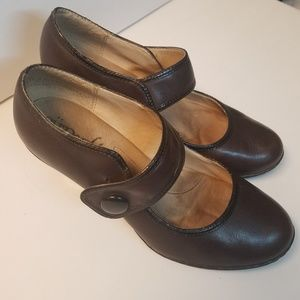 Eurosoft Shoes - Euro Soft Brown Heels Size 7.5